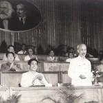 Chủ tịch Hồ Chí Minh tại Đại hội đại biểu toàn quốc lần thứ III Đảng Lao động Việt Nam tháng 91960