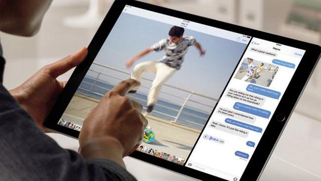 iPad Pro 9,7 inch sẽ trang bị camera 12 MP mà Apple trang bị trên iPhone 6S? - Ảnh: AFP