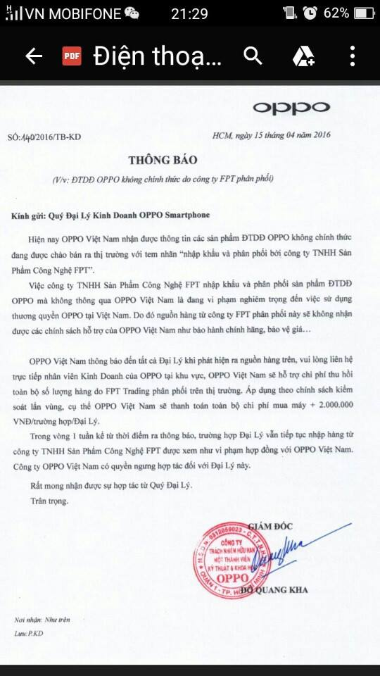 oppo-viet-nam-bat-ngo-thong-bao-thu-hoi-dien-thoai-oppo-do-fpt-phan-phoi