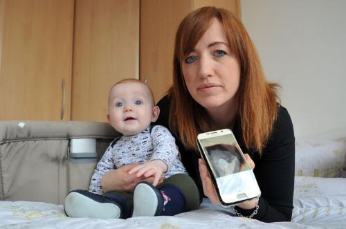 148332722563751-victoria-leeds-and-her-son-ned-who-was-almost-the-victim-of-an-exploding-samsung-galaxy-s6